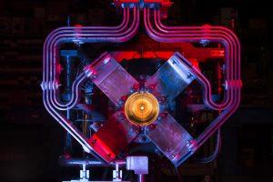 Neutrino horn at Fermilab