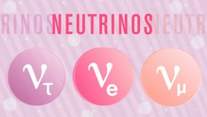 Three flavors of neutrinos. Credit: Symmetry Magazine / Sandbox Studio, Chicago