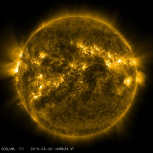 NASA image of our sun