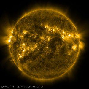 NASA image of our sun