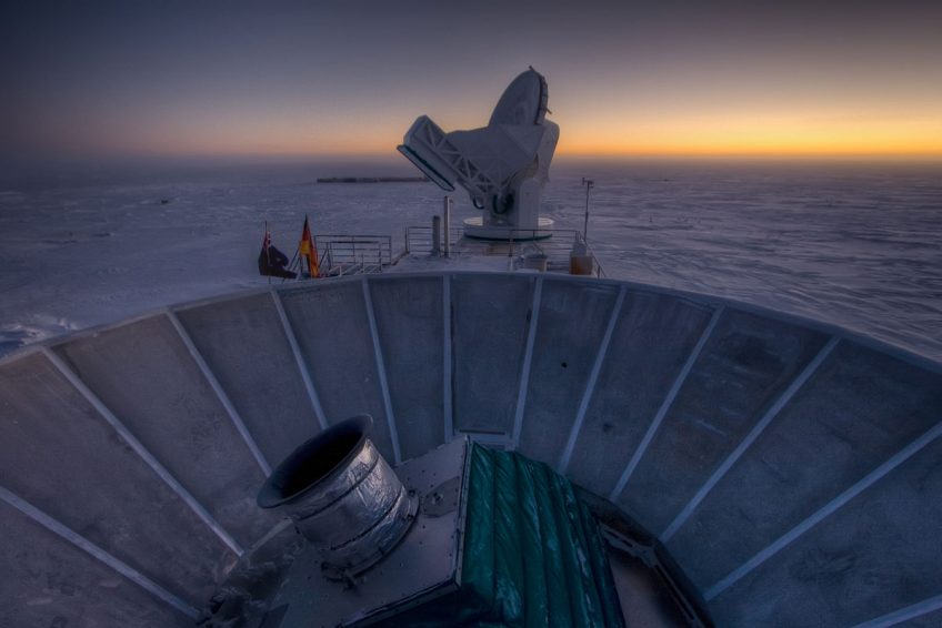 BICEP2 and South Pole Telescope