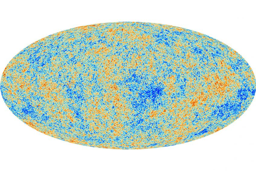 Planck map of the cosmic microwave background